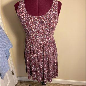 Cotton summer flower dress